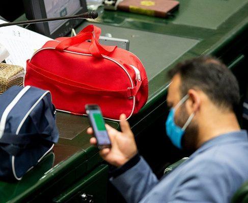 کیف بهداشتی برای مجلس تعطیل